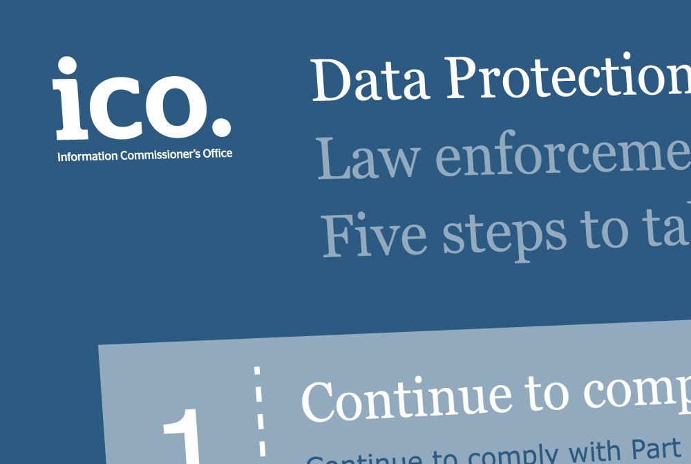 law enforcement processing 5 steps to take now