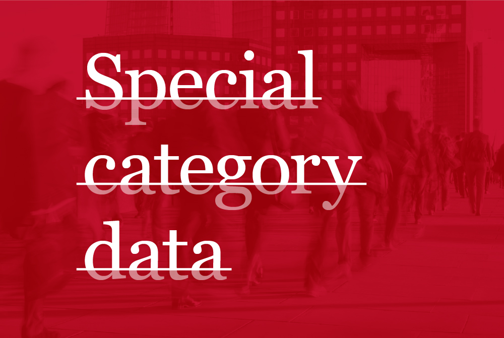 Blog: Why special category personal data needs to be handled even more carefully