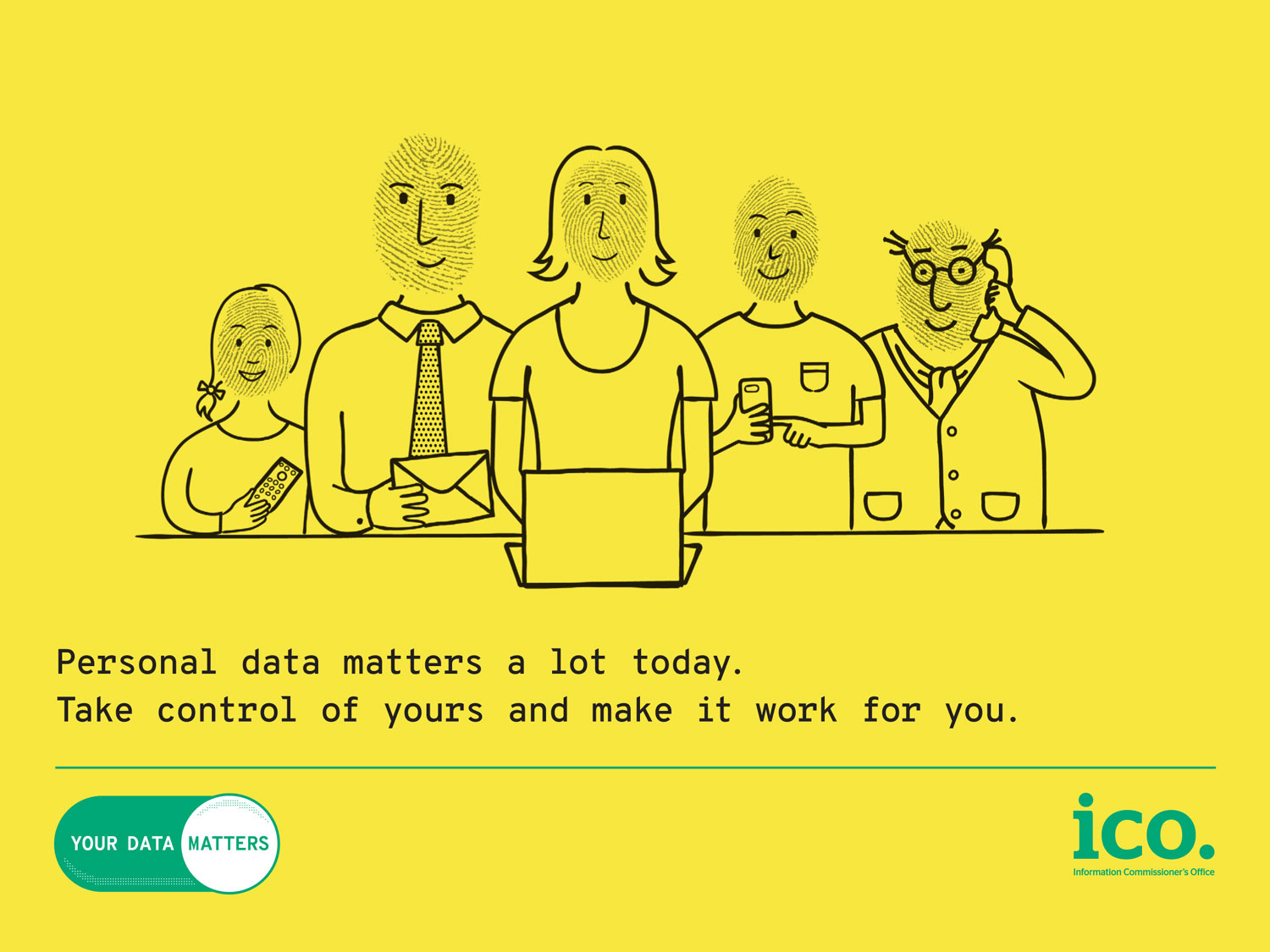 Your data matters poster